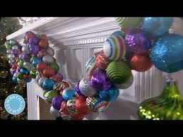 Outdoor Christmas Decorations Martha Stewart by Holiday Diy Colorful Ornament Garland Martha Stewart Youtube