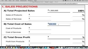 2014 business financial planning template free guide youtube plan