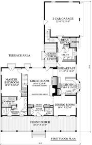 southern style house plan 3 beds 3 5 baths 2544 sq ft plan 137