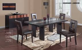 glass top dining room tables of high backrest chairs home