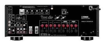 yamaha rx v683 av receiver w monitor audio mass speaker package 5 1