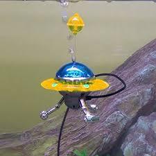 veny s aquarium decoration air aquarium ornament ufo fish