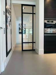 porte vitree cuisine porte vitrage vantaux isolation phonique et thermique portes