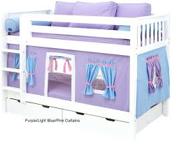 low loft bunk beds for kids bunk bed kids castle curtains for and