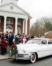 Christian Wedding Car Decorations 29 Festive Ideas For A Christmas Wedding Martha Stewart Weddings