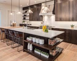 Dark Wood Floor Kitchen by Best 100 Farmhouse Kitchen With Dark Wood Cabinets Ideas