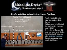 how to install low voltage lighting how to install low voltage deck lights and post caps 1 728 jpg cb 1233575156