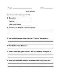 high book report worksheets interactive grammar book 9