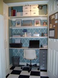 Small Office Space Ideas Enchanting Small Closet Office Space Ideas Room Decorating Before