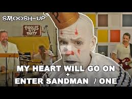My Heart Will Go On Meme - my heart will go on enter sandman one