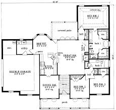 Home Design 1900 Square Feet 1700 To 1900 Square Foot House Plans