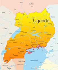 Nile River On Map Uganda And Gorillas