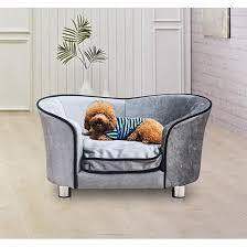 canape pour canapé lit pour chien canapé animaux avec accoudoir et