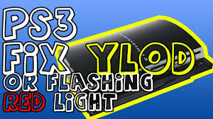 ps3 yellow light of death fix ps3 fix ylod and blinking red light rlod yellow light of death