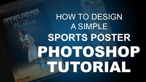 poster design with photoshop tutorial how to create a simple basketball poster design photoshop tutorial