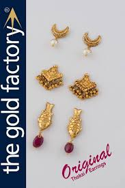 images of gold ear rings 47 best beautiful gold earrings factory prices images on