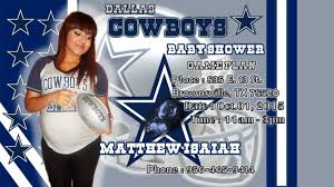 baby shower cowboy mary edith sanchez dallas cowboys baby shower youtube