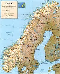 Scandinavia Map Maps Scandinavia