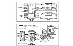 bathroom what wiring do i need for a fan light night light