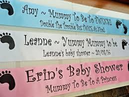 baby shower sash personalised baby shower sash
