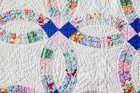 Double Wedding Ring Quilt by In Color Order Vintage Quilts