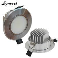 12v led recessed ceiling lights aliexpress com buy silver shell led downlights dimmable with milky