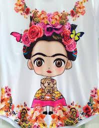 baby frida kahlo flowers art custom design frida kahlo and mondays