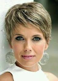 Easy Care Short Hairstyles For Women Over 50   very short haircut i just got my hair cut this way and love it i