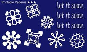 paper snowflakes arts and crafts december