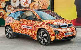 pixel art car bmw i3 art car by maurizio cattelan 2016 wallpapers and hd