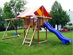 Backyard Swing Set Ideas Decorating Cake Ideas Birthday Outdoor Appealing Swing Sets For