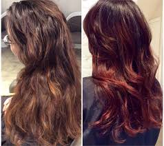 hair coulor 2015 marsala color of the year in action career modern salon