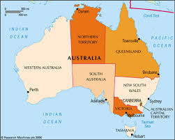 territories of australia map australia australia statesman s yearbook