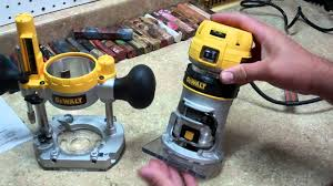 dewalt dwp611pk compact router review youtube