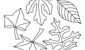 coloring pages of leaf shapes coloring pages oak leaf printable of leaves page a lessonstoday info