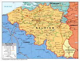 map of belgium political map of belgium by bestcountryreports