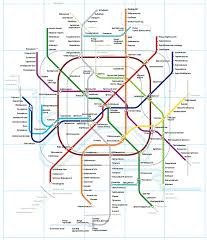 Maryland Metro Map by Making Of The Moscow Metro Map