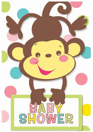 baby shower monkey monkey baby shower invitations 2 order