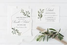 wedding invitations greenery fresh and stylish greenery wedding invitation suite inspo sparkfold