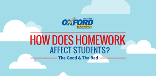 Why Homework Is Good Infographic How Does Homework Actually Affect Students Oxford