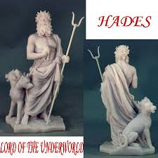 hades lord of the underworld statue