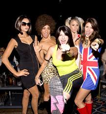 Spice Girls Halloween Costumes Nina Dobrev Nails Victoria Beckham Halloween 2015 Costume