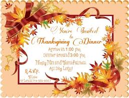 an invitation to thanksgiving with lorelai