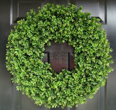 faux boxwood wreath 22 inch large boxwood wreath sizes 14 24