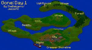 Dayz Maps Gone Day 1 Dayz Inspired Custom Map Addon Minecraft Mod Db
