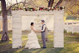 wedding arch las vegas sweet garden wedding inspiration at floyd park
