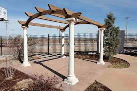 Metal Arches And Pergolas by Exterior Beauteous Picture Of Garden And Home Exterior Decoration