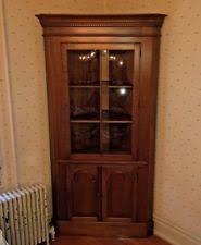 corner china cabinet ebay