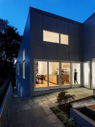 narrow modern house 10 degree house by howeler yoon architecture
