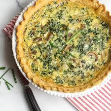 cuisine quiche kale and quiche garlic zest